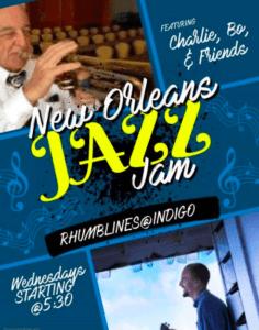 NEW ORLEANS JAZZ JAM @ Rhumb Lines