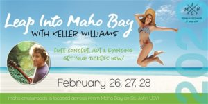 LEAP INTO MAHO BAY WITH KELLER WILLIAMS @ Maho Crossroads