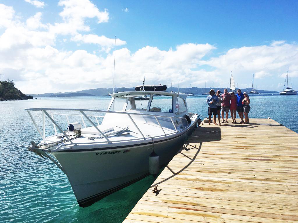 Saint John Boat Charters -- Stormy Petrel