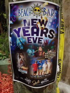 The Beach Bar New Year's Eve 2020 -- Live Bait