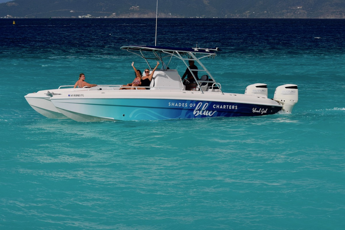 SHADES OF BLUE CHARTERS