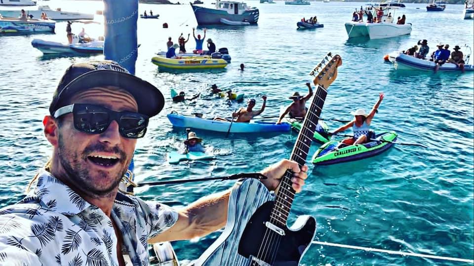 Jon Gazi -- Saint John Boat Charters Live Music