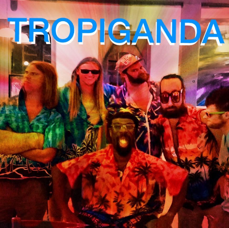 Tropiganda -- Saint John Boat Charters Live Music