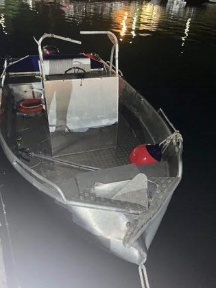 Saint John Boat Charters -- Hit and Run at National Park Dock